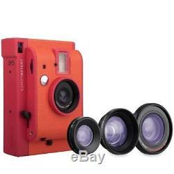 Lomography Lomo'Instant Marrakesh Edition Lens Combo Instant Film Camera Flash