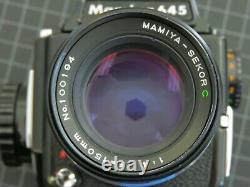 MAMIYA M645 Body with 150mm F4 Lens