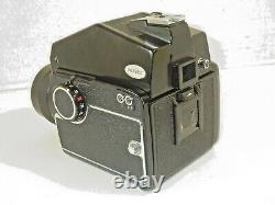 MAMIYA M645 CAMERA & SEKOR C 80mm f/2.8 LENS GRIP 210mm LENS CARRY CASE & EXTRAS