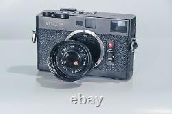 MINOLTA CLE 35mm Rangefinder + M Rokkor 40mm f2 Lens