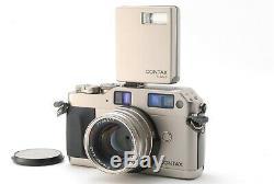 MINT++ Contax G1 35mm Rangefinder Film Camera + Planar 45mm F/2 T LENS TLA140