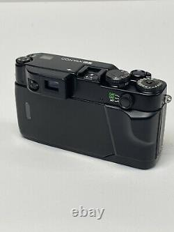 MINT Contax G2 Black Camera Millennium edition + 28mm 45mm 90mm Lens +TLA 200