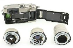 MINT Contax G2 Film Camera + 45 + 28 + 90 f2.8 lens + Strap From JAPAN 710