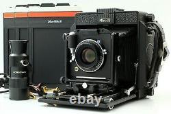 MINT Horseman 45 FA 4x5 Large Format Camera with Super ER 105mm F/5.6 Lens JAPAN
