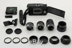 MINT+++Minolta CLE Film Camera 40mm 28mm 90mm 3Lens Auto CLE Leica M Mount