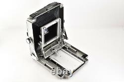 MINT Toyo Field 4 3/4 x 6 1/2 4x5 Large Format + 2 Lens more From Japan 115Y