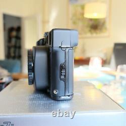 MINT in BOX Mamiya 7II Medium Format Film Camera + 80mm f/4 L Lens, FULL KIT