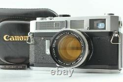 MINT with CaseCanon Model 7 Rangefinder Film Camera with50mm f/1.4 Lens from JAPAN