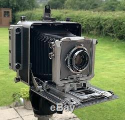 MPP Mk. 8 c/w 150/265mm Symmar Lens 5x4 Field Camera Made in England