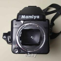 Mamiya 645E Medium Format SLR Film Camera with Sekor C 80mm f1.9 lens