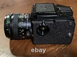 Mamiya 645J with 80mm lens