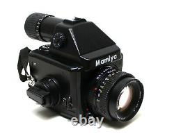 Mamiya 645e Medium Format Film Camera With Seiko 80mm 12.8 N Lens