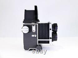 Mamiya C220 6x6 120 Film Medium Format Tlr Camera + 65mm F3.5 Blue Spot Lens
