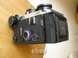 Mamiya C330 Pro F Professional F TLR Mamiya 80mm f/2.8 Blue Dot Lens EXC++