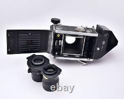 Mamiya C33 Professional TLR Camera with f/4.5 135mm Lens Porroflex READ (#5937)