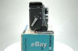 Mamiya C3 TLR Camera with f2.8 80mm Lens. Boxed. Graded EXC+ #8904