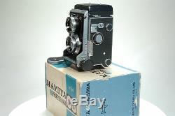 Mamiya C3 TLR Camera with f2.8 80mm Lens. Boxed. Graded EXC+ #8904