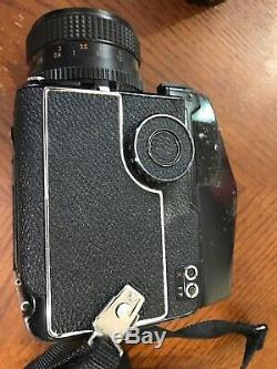 Mamiya M645 1000S With Metered Prism, 80mm And 55mm Lenses
