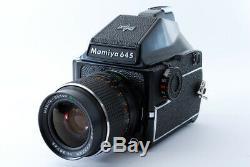 Mamiya M645 645 SUPER 1000S Film Camera with MAMIYA-SEKOR C 55mm F2.8 Lens Tested