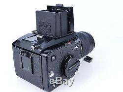 Mamiya M645 J M645j 120 Film Medium Format Camera 150mm Lens + Wlf