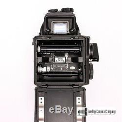 Mamiya M645 Medium Format Camera with80mm F2.8 N Lens, Prism Finder + Film Back