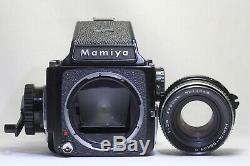 Mamiya M645 Medium Format Film Camera with Sekor C 80mm F/2.8 Lens Made In Japan