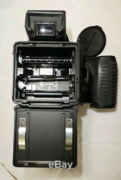 Mamiya M645 Super, AE Prism Finder, 80mm f2.8 Lens, Film Back Complete Outfit