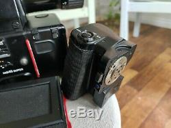 Mamiya M645 Super Medium Format SLR Film Camera with sekor 45mm f/2.8 N lens ++