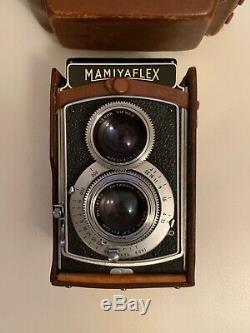 Mamiya Mamiyaflex II 120 Film TLR Camera with Setagaya Sekor 7.5cm. F3.5 Lens