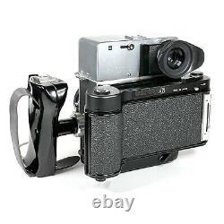 Mamiya Press Universal 6x7 120 Camera with Sekor 100mm f3.5 Lens + Strap EX+++