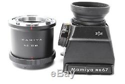 Mamiya RB67 Pro S Sekor 90 127 250 360mm 4 Lens SET with CDS Finder from Japan 220