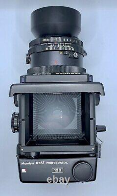 Mamiya RZ67 Pro 6x7 Medium Format 120 Film Camera Professional Portrait Lens