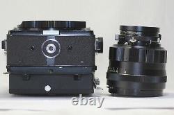 Mamiya Universal Press Black & Sekor P 127mm F/4.7 MF Lens Made In Japan