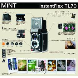 MiNT TL70 2.0 Flex Twin-Lens Instant Camera ND filters Close up Lens Hood Set