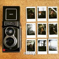 MiNT TL70 2.0 Flex Twin-Lens Instant Camera use Fujifilm instax mini film