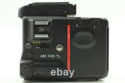 Mint Mamiya 645 Pro Waist Level Finder w /Sekor C 80mm f2.8 N lens Japan