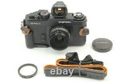Mint Voigtlander BESSA-L Black + SNAPSHOT-SKOPAR 25mm f/4 MC Lens Grip Japan
