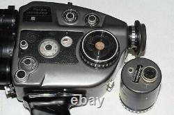 Movie Camera Beaulieu 4008 ZM II With Schneider Optivaron Zoom Lens
