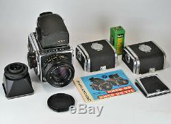 NEAR EXC 1984 RUSSIAN USSR KIEV-88 MEDIUM FORMAT CAMERA+ MC VOLNA-3 f2.8/80 LENS