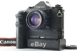 NEAR MINTCANON F-1 35mm SLR Film Camera with New FD 50mm F/1.4 Lens From Japan