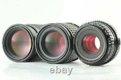 NEAR MINT 3 LENS SET PENTAX 645 SMC A 75mm F/2.8 150mm F/3.5 200mm F/4 JAPAN