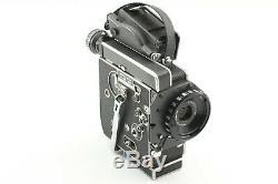 NEAR MINT Bolex H16 SBM 16mm movie film camera + 15-60mm Lens from Japan #F28