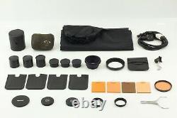 NEAR MINT Case Arriflex 16ST 16mm film movie Camera 4 Lens Set from Japan ko23