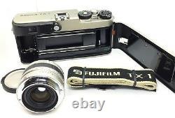NEAR MINT Fujifilm TX-1 Rangefinder Film Camera + 45mm F4 lens from JAPAN