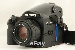 NEAR MINT MAMIYA 645 AFD Medium Format Camera + AF 80mm f/2.8 Lens from JAPAN