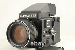 NEAR MINT+++ MAMIYA M645 SUPER with SEKOR C 80mm f/1.9 Lens from JAPAN