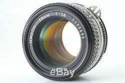 NEAR MINT Nikon New FM2 Film Camera with 50mm f/1.4 Ai-S Lens Japan 104