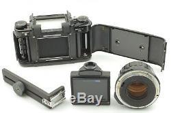 NEAR MINT PENTAX 6x7 Eye level + SMC Takumar 105mm f/2.4 Lens From Japan 355