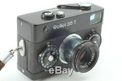 NEAR MINT+++ROLLEI 35 T COMPACT FILM CAMERA with TESSAR 40mm F/3.5 Lens From JP