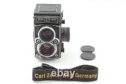 NEAR MINT Rollei Rolleiflex 2.8GX TLR Planar 80mm f/2.8 Lens From Japan 736